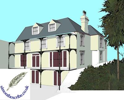 image of house portrait 9