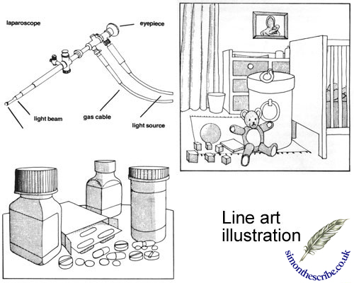 image line art illustration
