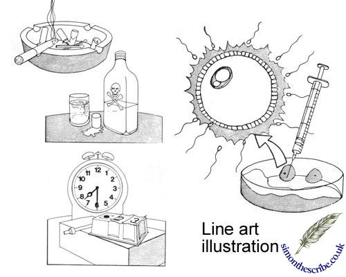 image of line art illustration