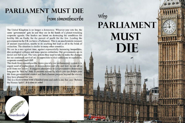 Book Cover Image of Parliament must Die